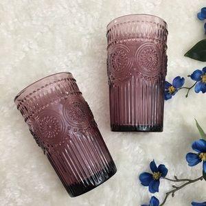 The Pioneer Woman | Set of 3 Purple Glasses